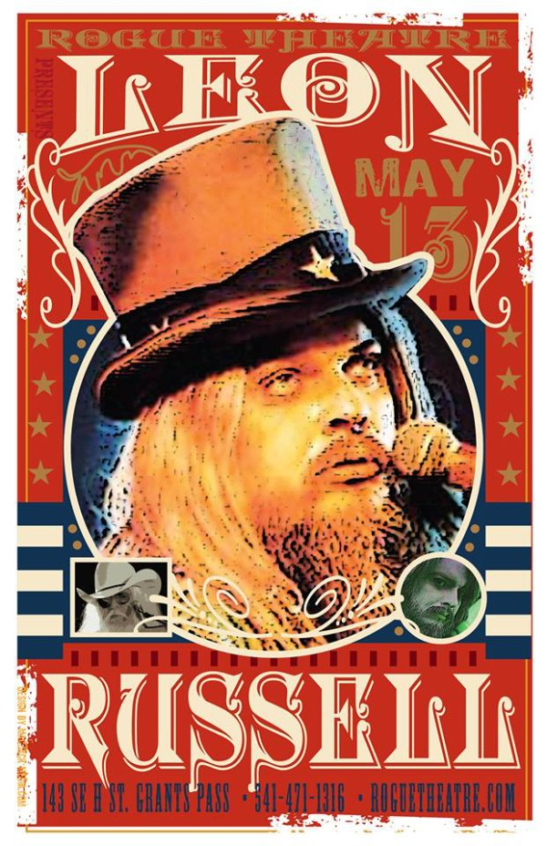 20160513, grants pass, rogue theatre, leon russell