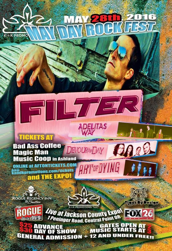 20160528, May Day Rock Fest wFilter, Adelitas Way, Devour The Day & Art of Dying @ The Expo