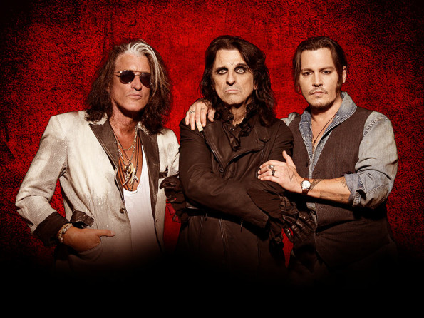 7/23/2016: Hollywood Vampires @ The Brit Pavilion in Jacksonville, OR