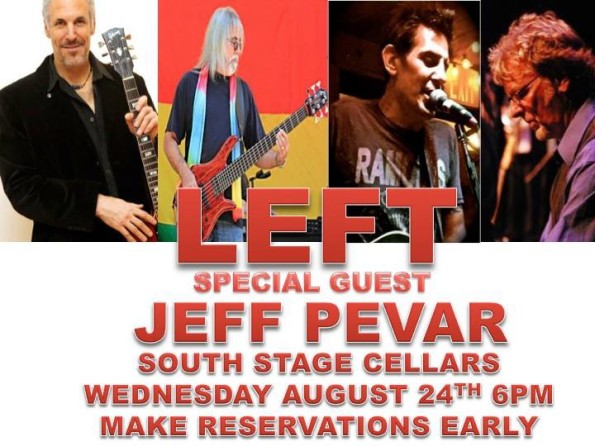 8/24/2016: LEFT w/Jeff Pevar @ South Stage Cellars in Jacksonville