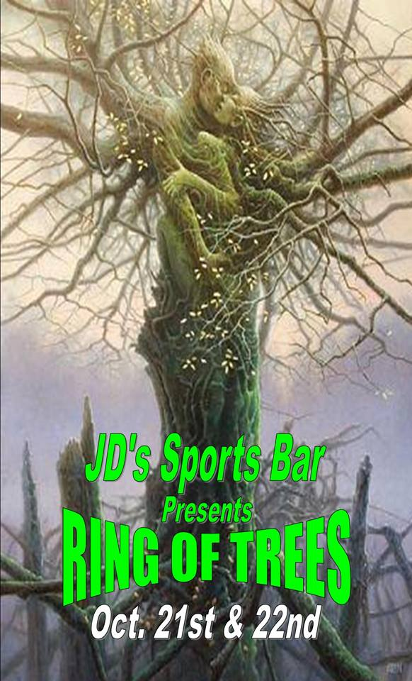 10/21/2016: Ring Of Trees @ JD's Sports Bar