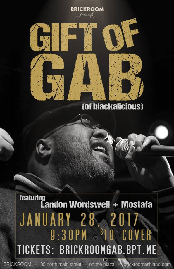 1/28/2017: The Gift Of Gab @ The Brickroom