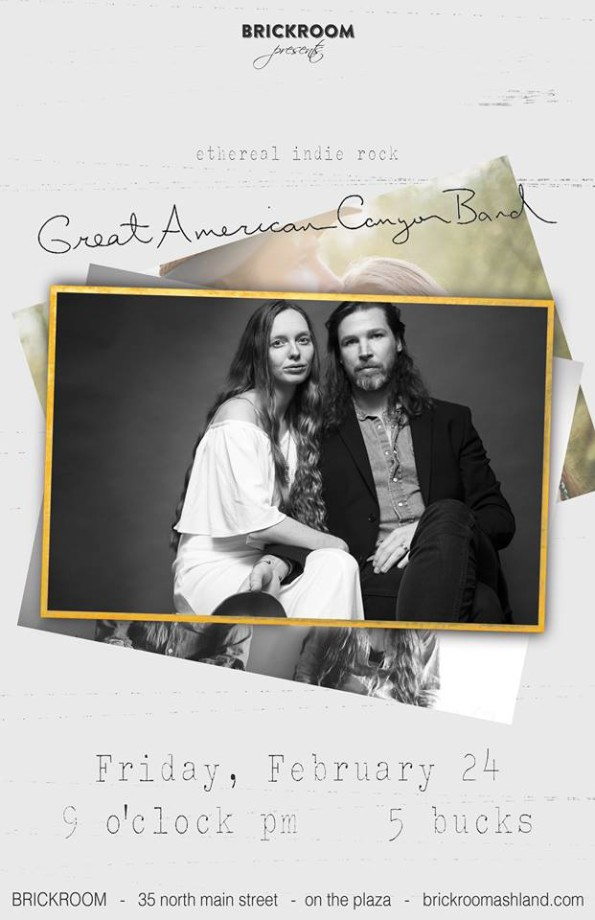 2/24/2017: The Great American Canyon Band @ The Brickroom
