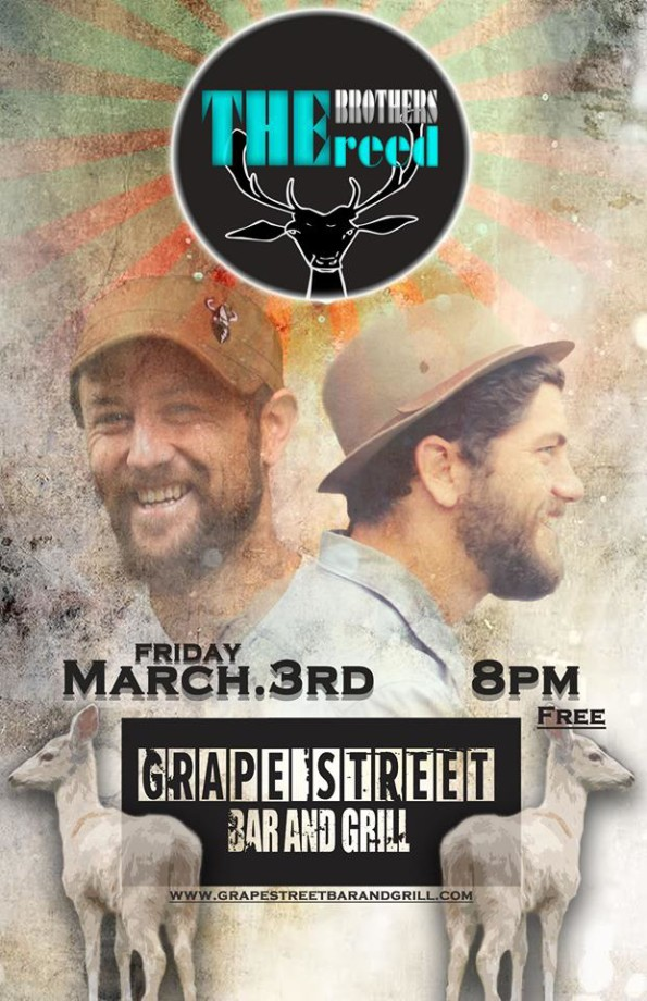 3/3/2017: The Brothers Reed @ Grape Street Bar & Grill