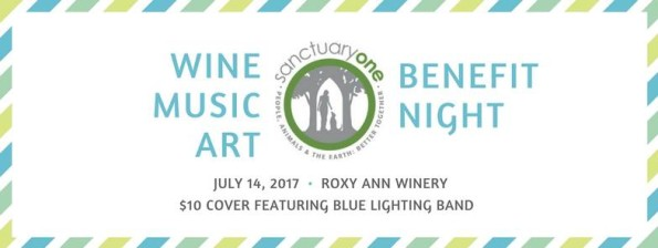 7/14/2017: Sanctuary One Benefit Night @ Roxy Ann Winery (Medford, OR)