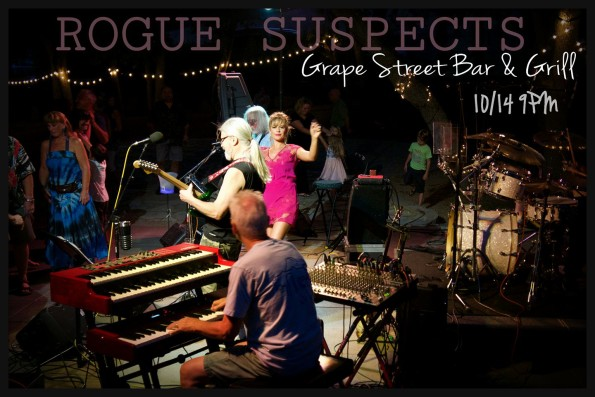 10/14/2017: The Rogue Suspects @ Grape Street Bar & Grill (Medford, OR)
